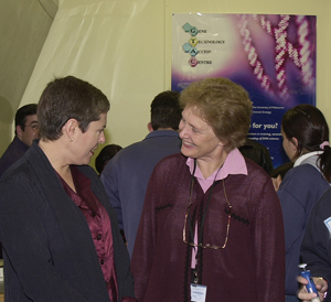 Lynne Kosky MP and Professor Suzanne Cory
